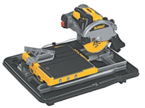 DEWALT D24000 1.5 Horsepower 10 Inch Wet Tile Saw