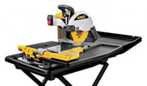 DEWALT D24000S Heavy Duty 10 inch Wet Tile Saw with Stand