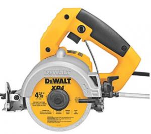 DEWALT DWC860W 4 3 8 Inch Wet Dry Saw