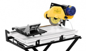 QEP 60020SQ 24 Inch Dual Speed Tile Saw with Water Pump and Folding Stand