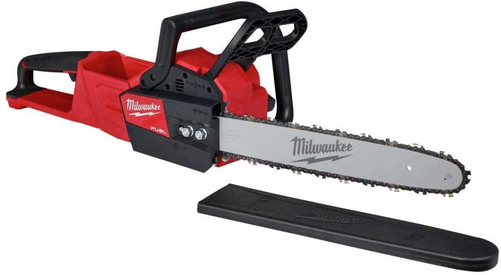 Milwaukee M18 FUEL 16 Inch 18-Volt Lithium-Ion Battery Brushless Cordless Chainsaw